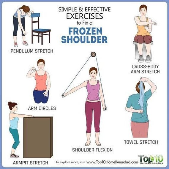 Exercises - Frozen Shoulder