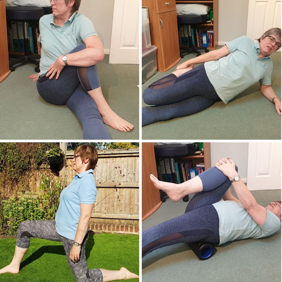 hip flexor montage