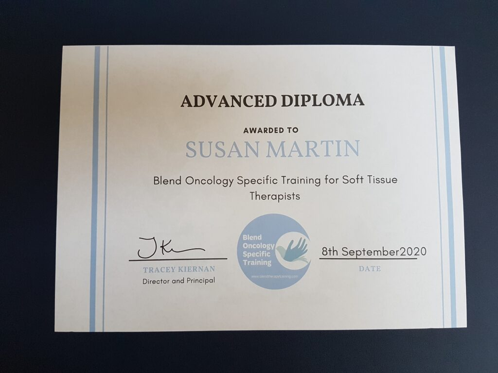 Oncology Training Certificate